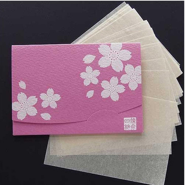 発症再撮り確かに季節の花  桜 「絹すき」 短冊サイズ