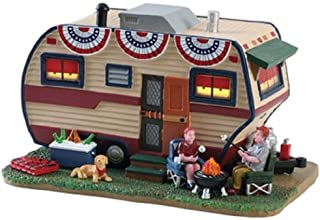 Lemax 2018 Summer Americana Summer Trailer Lighted Porcelain Building 85392