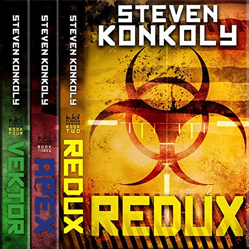 The Black Flagged Thriller Series Boxset: Books 2-4 audiobook cover art