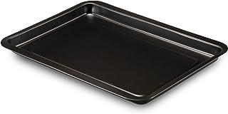 Formegolose 88526FG plaque à four rectangulaire, 26 x 37 cm, Steel, Noir, 26cm x 37cm
