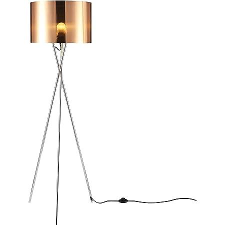 Versanora Vn L00005 Romanza Tripod Floor Lamp Shade Copper Black