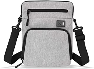 Tablet Shoulder Bag, Compact iPad Carrying Sleeve with Detachable Strap for 12.9 inch New iPad Pro with Magic Keyboard and...