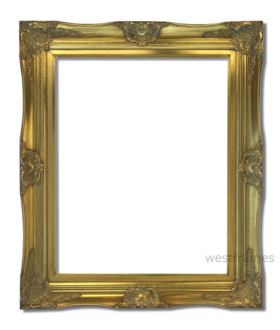 Amazon Com Imperial Solid Wood Poster Frame 16x20 Gold