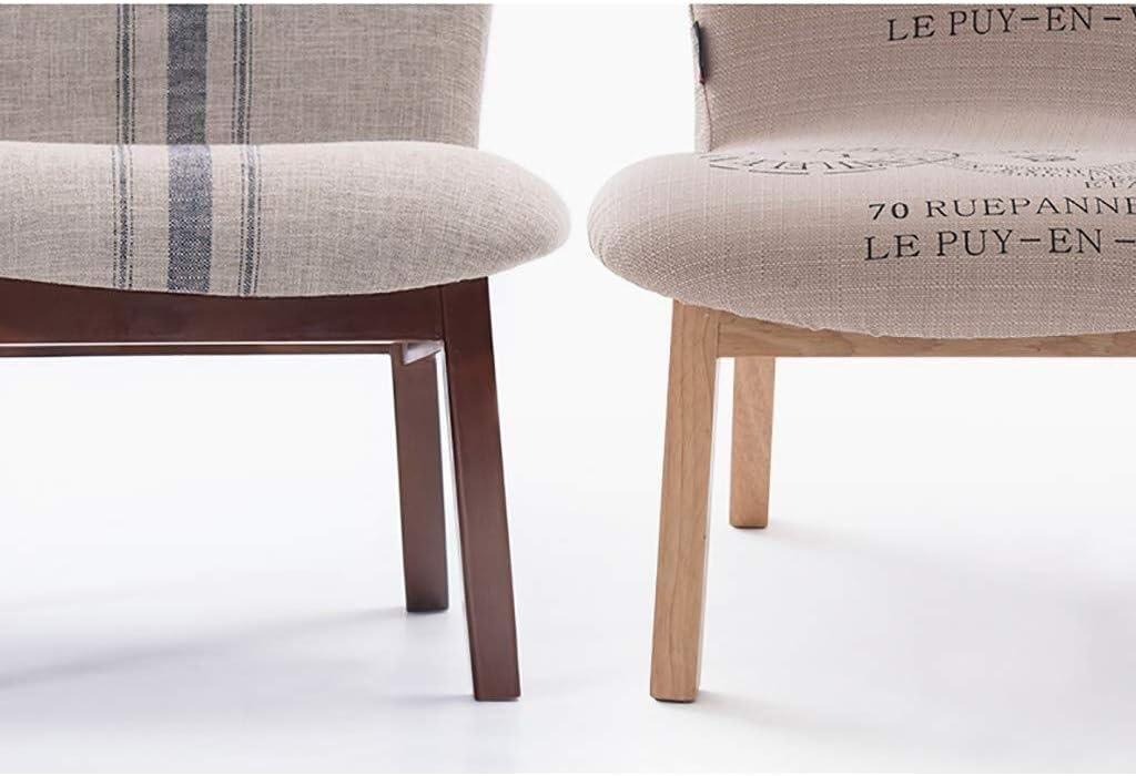 MENG Minimalist Rest Hocker Fuß Hocker aus Holz ändern Schuh Hocker |Retro Design Stoff Fuß Hocker aus Holz ändern Schuh Hocker Startseite Schuh Hocker (Color : A6) A7