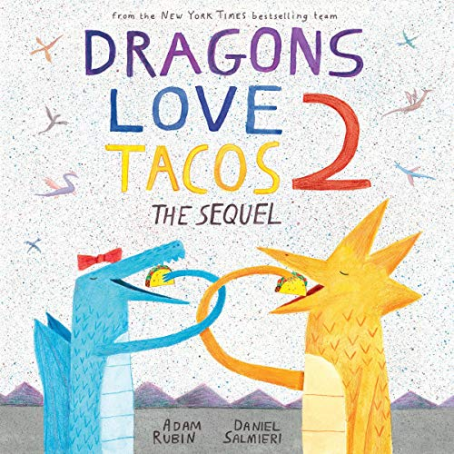 Dragons Love Tacos 2 audiobook cover art