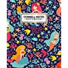 Cornell Notes Notebook: Magical Marine World Large Cornell Note College Ruled Paper Notebook | Medium Lined Journal Note Taking System for School, College & University | Cartoon Mermaid, Starfish Print