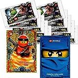 LEGO Ninjago Trading Card Game Serie 3: 10 Packungen a 5 Karten + Limitierte Bonus Karte (LE2 Spinjitzu Meister Kai)