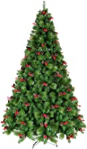 Christmas Tree Artificial Xmas Tree Environmental Protection PVC (Size : 1.2m-4ft)