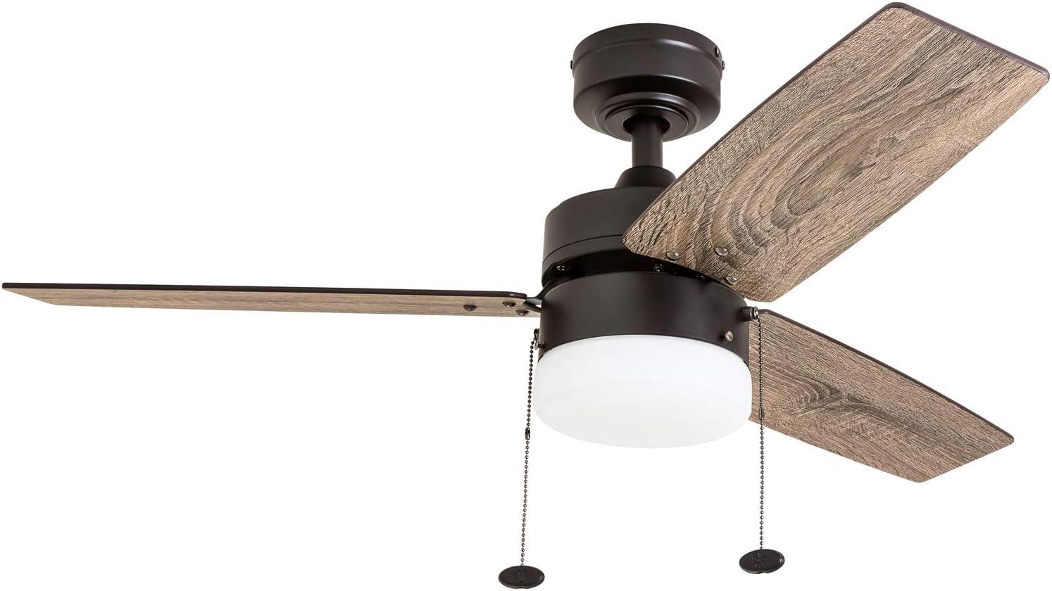 Prominence Home 51015 Reston Farmhouse Ceiling Fan 42 Bronze Amazon Com