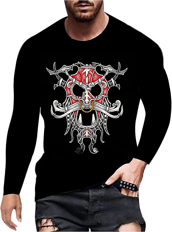 Men's Long Sleeve Henley Shirts Slim Fit Cotton Basic Blouse Tops Vintage Sport Breathable Crew Neck T-Shirt