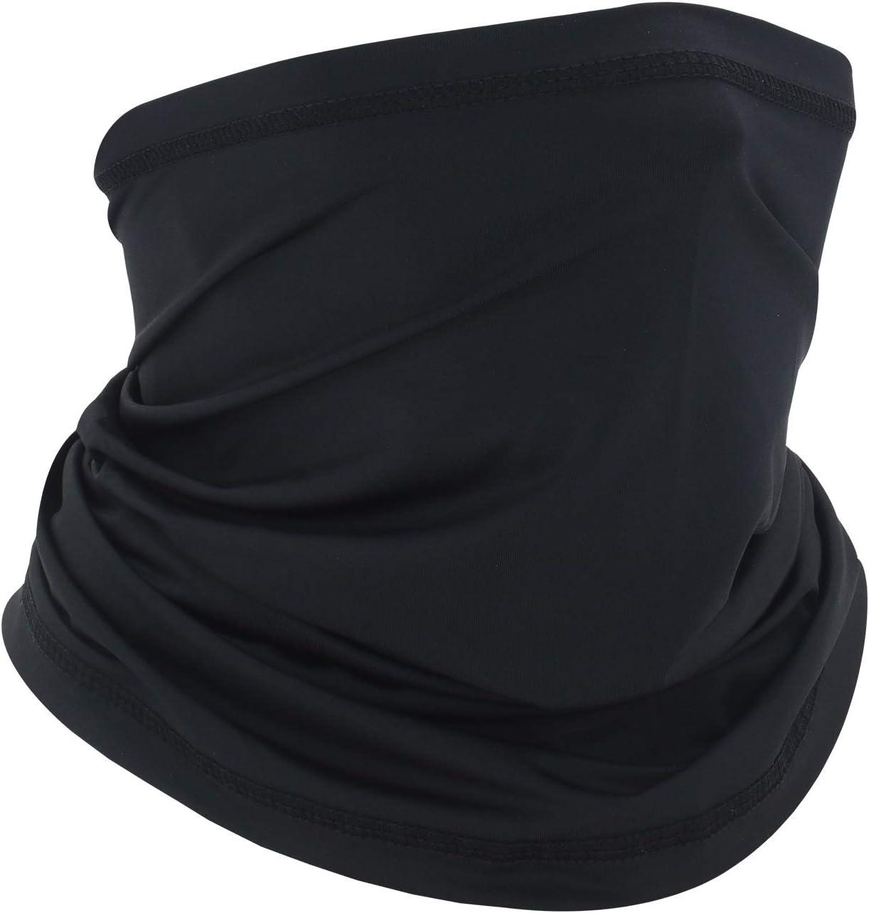Noir+Gris01 Deweni Bandeau Multifonctionnel Protection UV Bandana /écharpe Respirant Cou gu/être /écharpe Chapeaux Cagoule pour Moto de Cyclisme en Plein air