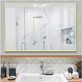 Beauty4U Large Rectangle Metal Frame Mirror, 35.4