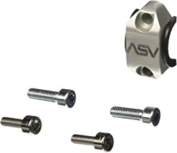 ASV Inventions RCU02-S Silver Stock Clutch Perch Rotator Clamp