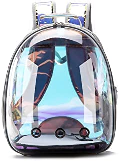 MAOSHE Portable Travel Pet Carrier Backpack,Space Capsule Bubble Design,Waterproof Handbag Backpack for Cat and Small Dog