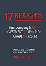 17 Reasons Your Company Is Not Investment Grade & What To Do About It