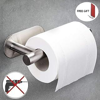 Toilettenpapierhalter ohne Bohren VEVIK Klopapierrollenhalter Selbstklebend Rollenhalter WC Klopapierhalter Edelstahl Klorollenhalter Papierhalter f/ür Badezimmer