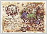 Die Staffelei Geschenk Kfz Mechaniker Mechatroniker Automobil Zeichnung Color 30 x 21 cm -