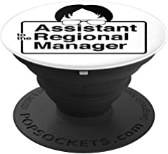 Assistant To The Regional Manager - Funny Office Title - PopSockets Grip and Stand for Phones and Tablets