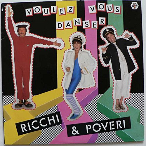 Ricchi E Poveri - Voulez Vous Danser - Baby Records - 1C 066 2400691, EMI - 1C 066 2400691