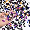 DECORA 15000pc Plastic Confetti Multi-Shaped Glitter Colorful Confetti for Halloween Party Table Decoration and DIY Craft 300 Grams #2