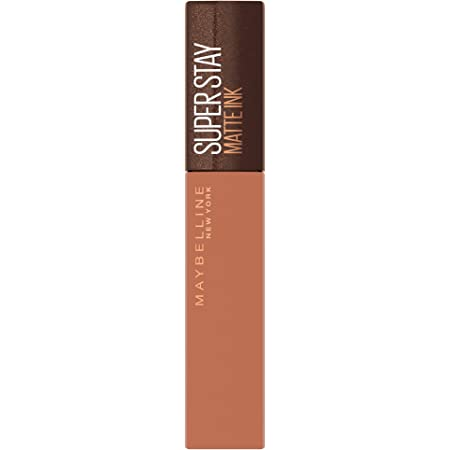 Maybelline New York Superstay Matte Ink - Pintalabios Líquido Mate (255 Chai Genius) 5 ml