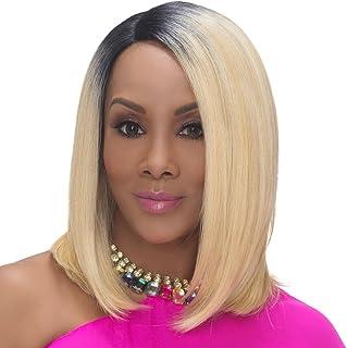 (330ml, 4) - Vivica A. Fox SANDRA New Futura Fibre, Deep Lace Front Wig in Colour 4