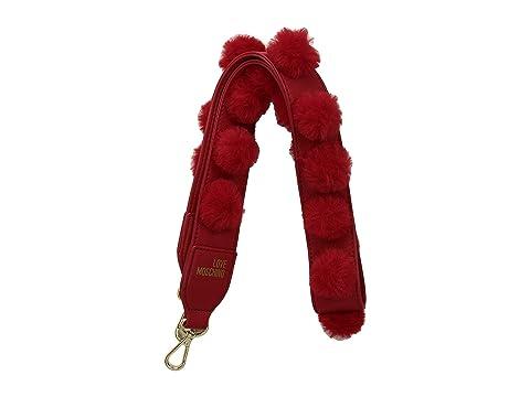 LOVE Moschino Pom Pom Handbag Strap