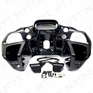HTTMT HL1584-50- Inner ABS Front Fairing w/glove Compatible with Harley Road Glide 1998-2013 FLTR