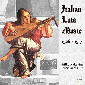 Italian Lute Music 1508-1517