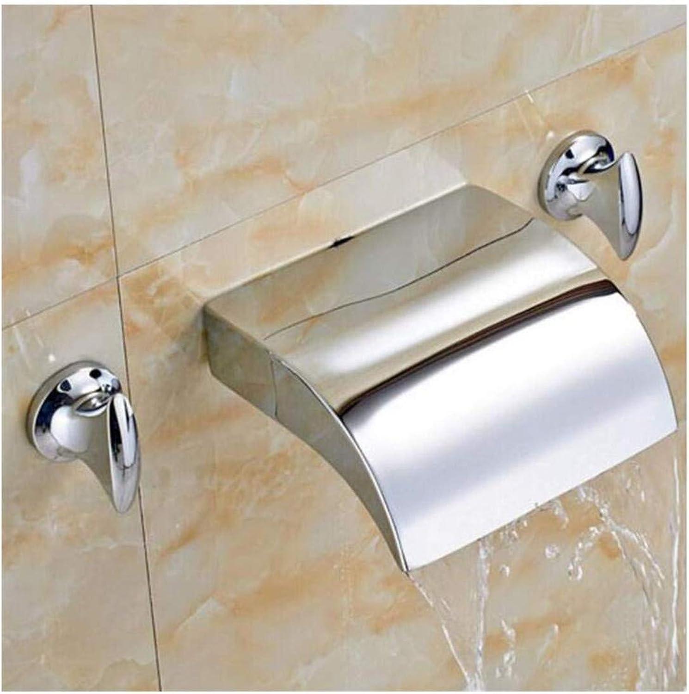 Wasserhahn Küche Bad Garten Mischbatterien Für Wasserfallbecken Mit Zwei Griffen Ctzl2451