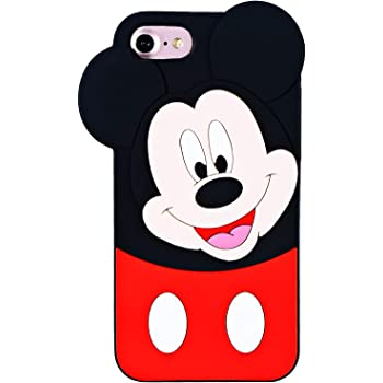 Amazon Com Topsz Mickey Case For Ipod Touch 6th 5th Silicone 3d Cartoon Animal Cover Kids Girls Teens Boys Animated Fruit Design Cool Cute Kawaii Soft Rubber Funny Unique Character Cases For Ipod 5 6 Generation
