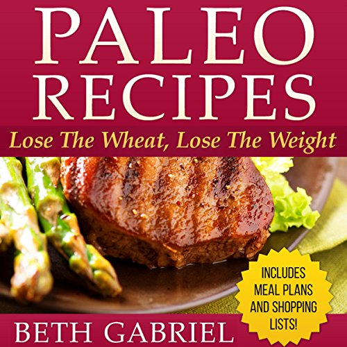 Paleo Recipes audiobook cover art