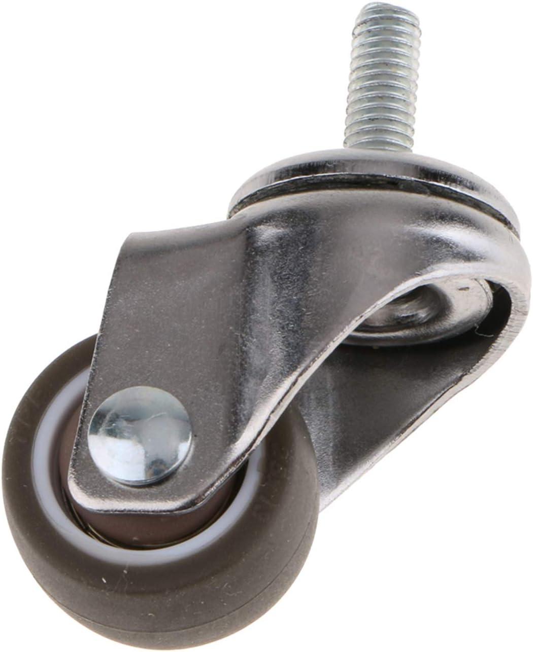 Office Chair Max 79% OFF Casters Heavy Duty Furn Rubber Trolley Los Angeles Mall Wheel Castor