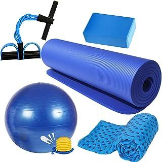 BESPORTBLE, 1 conjunto/5 peças, bola de ioga antiderrapante, tapete para ioga, acessório esportivo para casa, suprimentos ...