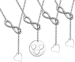 Zuo Bao Mother and Daughters Necklace Set Mother Daughter Lariat Y Necklace