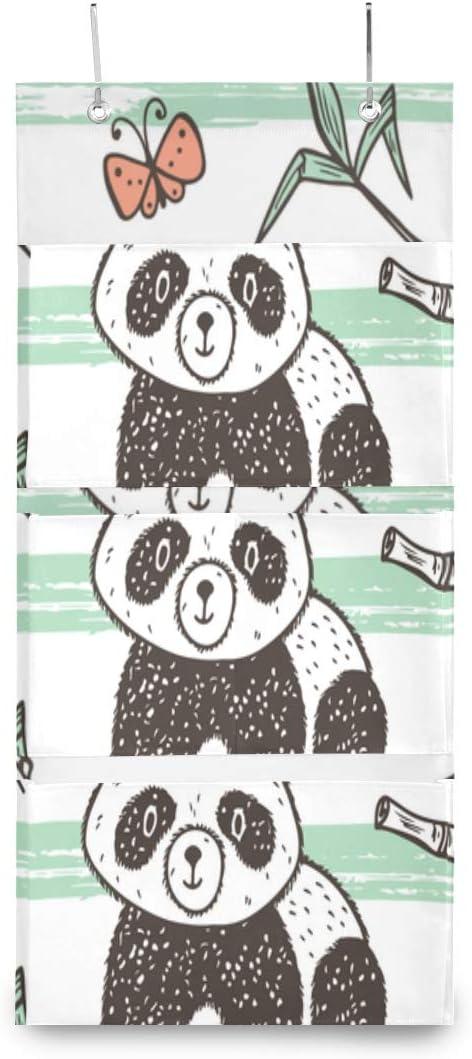 XDCGG cheap Hanging Storage Bag Cute Panda Or Baby Bamboo Genuine Free Shipping Wall