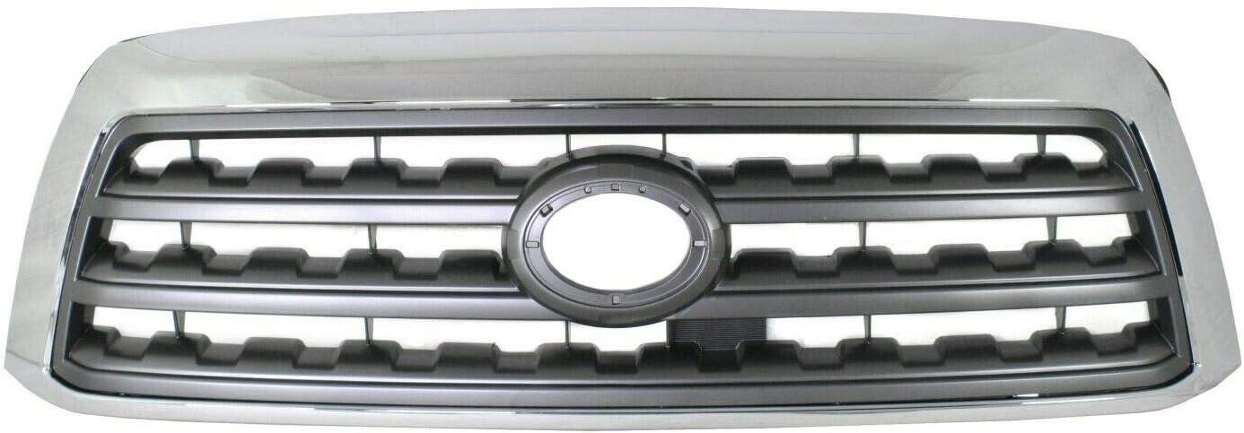 ZR Grille Cheap bargain Compatible with 2008-2017 Ch unisex Sequoia Utility Sport SR5