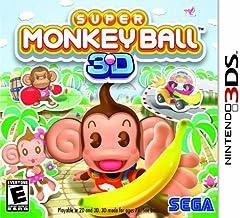 Jogo Super Monkey Ball - Nintendo 3DS Usado
