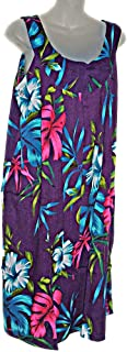 90f6326ef91f East of Maui Hawaiian Store Tropical Hawaiian Floral Plus Size Summer Dress  Cruise Vacation Luau (