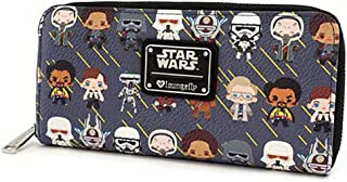 Loungefly Star Wars Solo Chibi Character Print Pencil Case