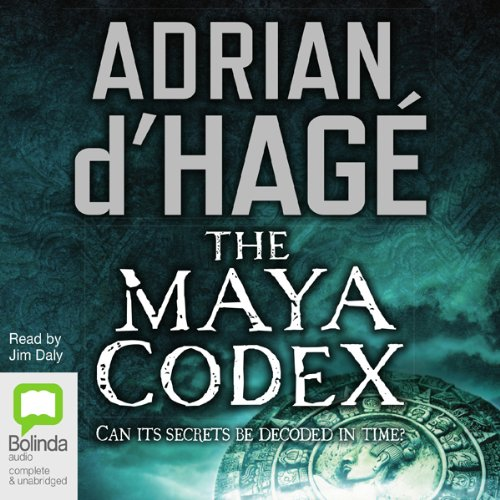 Maya Codex audiobook cover art