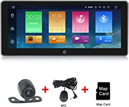 Double Din Car Stereo,Android 9.0 Car Radio Stereo Audio 10.25 Inch Double Din, Quad-Core 16 ROM, Car GPS Navigation Head Unit,Support Bluetooth, WiFi Connection(NO DVD/CD)