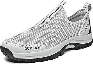 XIMIXI Chaussures de randonnée creuses en maille pour homme