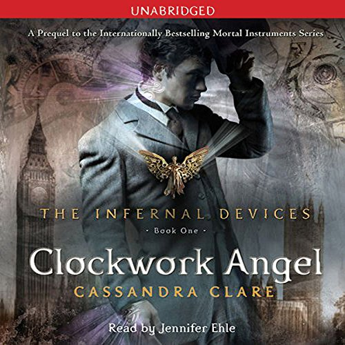 Clockwork Angel audiobook cover art