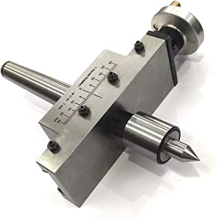 NEW IMPROVED TAPER TURNING ATTACHMENT WITH REVOLVING LIVE CENTER FOR LATHE MACHINE-METRIC (MORSE TAPER 2MT)