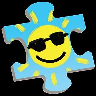 幼児、児童向けお天気パズル:子供のための科学!季節と天候を学べる教育ゲーム。太陽から雪まで!