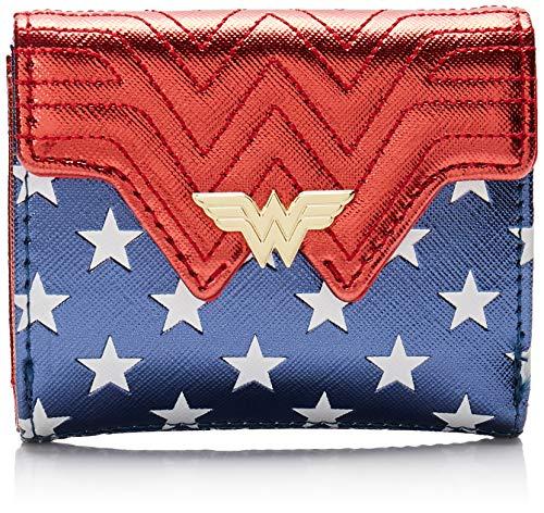 Wonder Woman Loungefly - Kostüm Frauen Geldbörse Multicolor