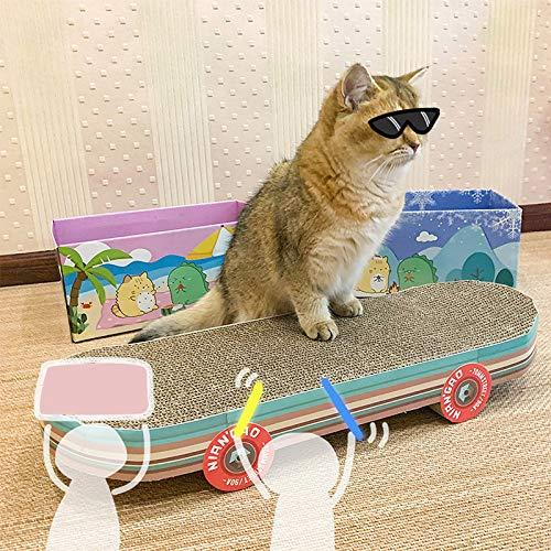 61f0riBwsiL - Votre Chat va Adorer le Skateboard Griffoir pour Faire ses Griffes