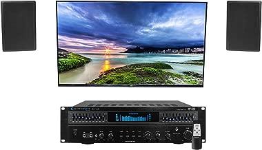 Technical Pro RX113 1500 Watt Home Theater Amplifier Receiver+(2) 5.25