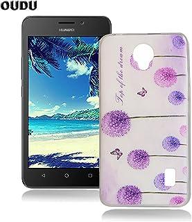 6f8457d2b12 OuDu Funda para Huawei Y635 Carcasa Protectora Caso Silicona TPU Funda  Suave Soft Silicone Case Cover